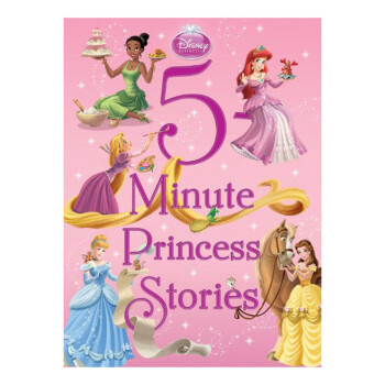 DISNEY 5-MINUTE PRINCESS STORIES--5分钟公主