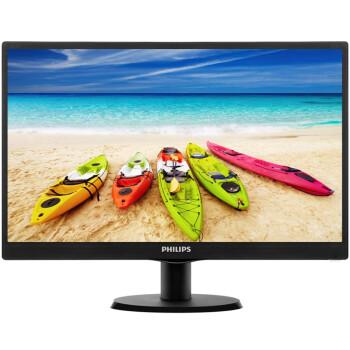 飞利浦(PHILIPS) 203V5LSB26 19.5英寸 LED背光宽屏 电脑显示器 液晶显示器