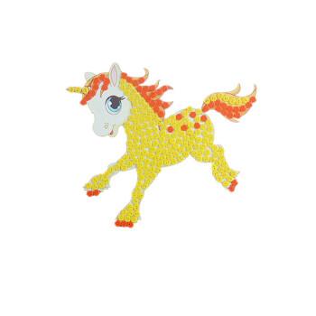 幼儿园儿童手工制作创意纽扣粘贴画花材料包 白龙马 材料包