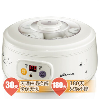小熊(Bear) SNJ-576 酸奶机 1L 蜜罐陶瓷分杯
