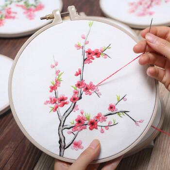 【正品授权】刺绣diy孕妇手工制作创意成人材料包欧式古风丝带绣苏绣