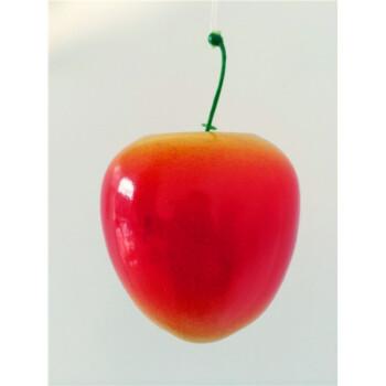 仿真水果蔬菜藤条 客厅摆放装饰物品幼儿园新品早教拍照道具 苹果