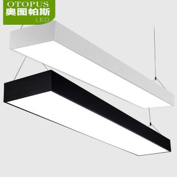办公室吊灯led可吸顶 长方形吊线灯会议室学校商业照明灯具 满4减1图片