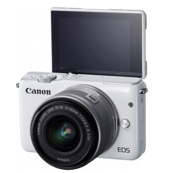 佳能(Canon)EOS M10 微型单电套机(EF-M 15-45mm f/3.5-6.3 IS STM)