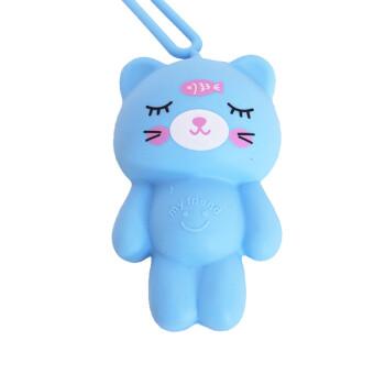 2019新款时尚女包韩国超萌可爱动物小熊创意卡通硅胶钥匙包防刮花多功