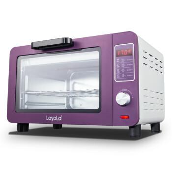 忠臣(loyola)烤箱智能小烤箱15L魅紫色LO-X3