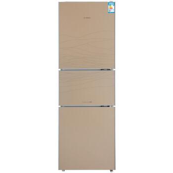 博世(BOSCH) BCD-226(KGD239S0TI) 226升 三门冰箱 双冷冻(流沙金流纹)