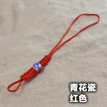 茶壶绳手工壶绳紫砂壶盖绳子编织绑壶绳茶杯壶盖绳茶道具零配 青花瓷
