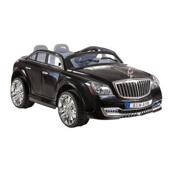 小龙哈彼 Happy dino 儿童电动车 双电双驱电动汽车 双座位 LW998Q-HW-L222 黑色 3岁-8岁
