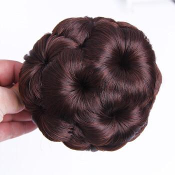 假发造型发饰 九朵花发包 发饰 女生盘发新娘丸子头发