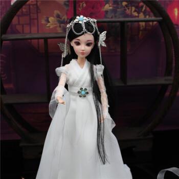 儿童娃娃古装衣服欣怡古装娃衣古风娃娃衣服古代仙子换装套装 夕瑶