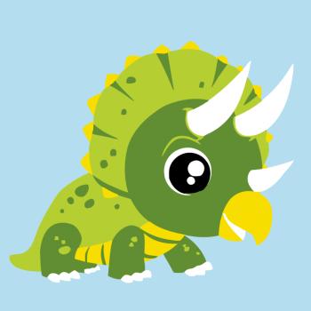 彩泥恐龙动物图片步骤