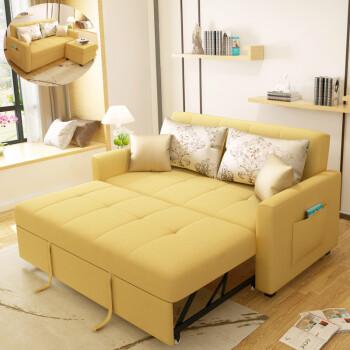 618狂欢继续全店8折多功能卧室两用客厅整装小户型小公寓可折叠沙发床图片