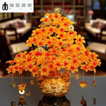 手工串珠编织制作发财树材料摇钱树客厅摆件饰品龙 龙