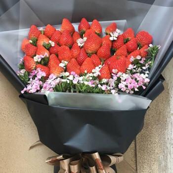 新款水果草莓花束材料包手工diy制作工具材料包装套装