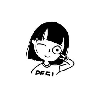天祈q版头像卡通人物形象logo设计真人照片漫画定制作情侣头像微信送图片