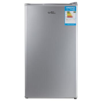 威力(WEILI) BC-96MH 拉丝银 96升单门冰箱