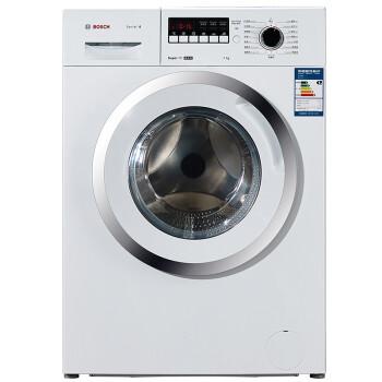 博世(BOSCH) XQG70-WAE202601W 7公斤  滚筒洗衣机 15分钟快洗 精锐版 LED显示屏(白色)