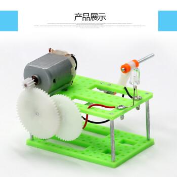 手摇发电灯 科技学手工小制作diy机器人手工课材料包拼装 手摇发电灯