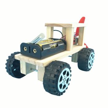 致年华 自制动力小车双翼风力赛车 diy手工制作材料 小学生益智科技小图片