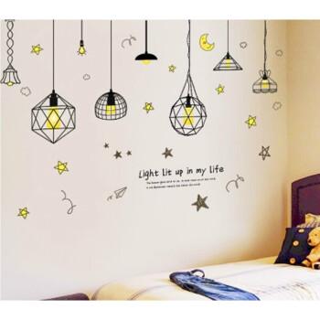 舒厅创意家居 相框墙墙上贴纸自粘卧室装饰品宿舍温馨图片