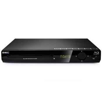 杰科(GIEC)BDP-G2803网络版 蓝光dvd播放机 影碟机 USB 光盘 硬盘 高清网络播放器(黑色)