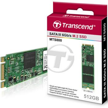 创见(Transcend)MTS800 512G M.2 2280 固态硬盘