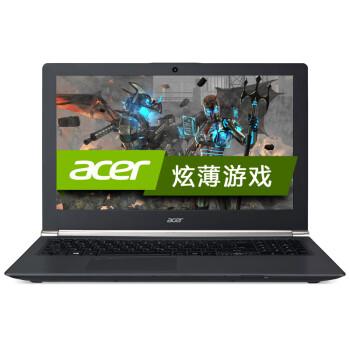 宏碁(acer)暗影骑士 VN7 V Nitro 15.6英寸游戏本(四核i7-4720HQ 8G 1T GTX960M 2G 1920*1080 win10)