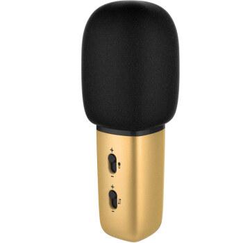 唱吧(changba)C1 麦克风金色 唱吧麦克风 手机电脑麦克风 苹果 安卓 小米手机麦克风 电容麦K歌YY抢麦专用