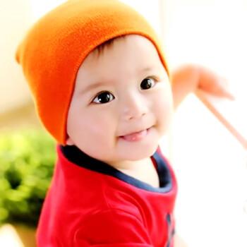 漂亮宝宝画报墙贴备孕男孩胎教海报启蒙萌萌可爱婴儿照片图片z93 浅