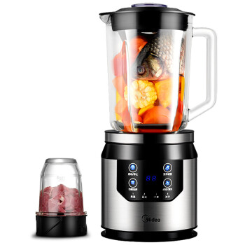 美的(Midea)破壁料理机 多功能果汁机 家用玻璃杯婴儿辅食搅拌机WBL80Y21