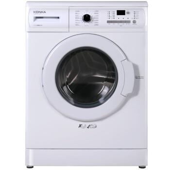 康佳(KONKA)XQG80-B12122W 8公斤 变频滚筒洗衣机 静音(白色)