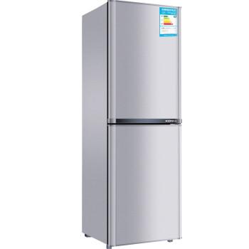 康佳(KONKA)BCD-170TA 170升 双门冰箱 一级能效(银色)