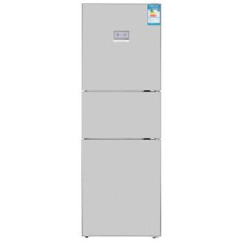 博世(BOSCH) BCD-308W(KGH32A2L0C) 308升 三门冰箱 LCD液晶显示屏 宽体(不锈钢色)