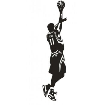 乔丹詹姆斯欧文海报nba篮球球星墙贴学生宿舍墙壁装饰画壁纸 姚明 送