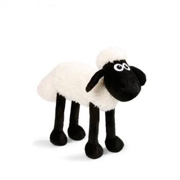 肖恩羊 小羊肖恩毛绒玩具 可爱提米小羊娃娃羊公仔 全