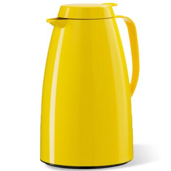 德国爱慕莎(emsa)保冷保温壶家用保温瓶热水瓶暖水瓶玻璃内胆贝格黄色1.5L