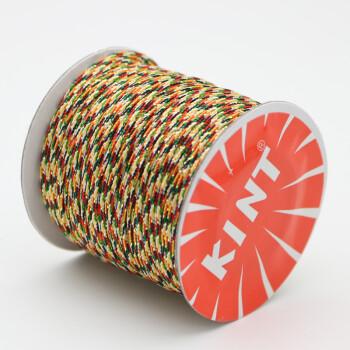 五彩绳编织线diy手工儿童七彩线编发编手链红绳子彩色