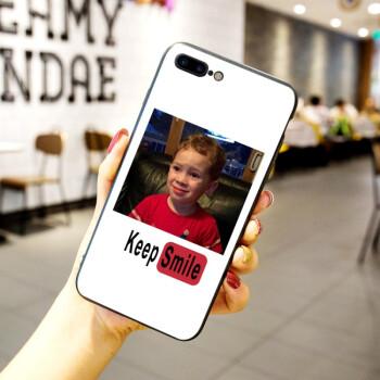 ins假笑男孩表情包iphone7plus手机壳男女款苹果x网红图片