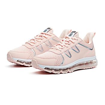 安踏女鞋运动鞋2018夏季新款网面透气全掌气垫鞋跑步