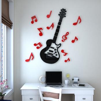 立体墙贴儿童房卡通幼儿园音符音乐教室客背景墙墙贴墙饰卧室3d电视