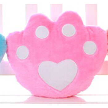 七彩音乐发光抱枕创意夜光毛绒玩具可爱布娃娃小玩偶生日礼物女生发光