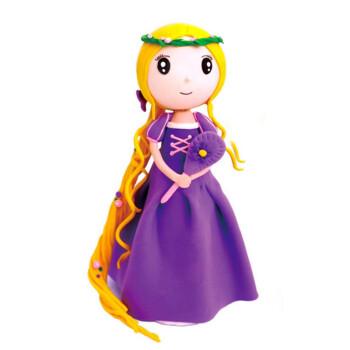diy创意彩泥橡皮泥制作公主超轻粘土材料包手工制作玩具塑形玩具女孩