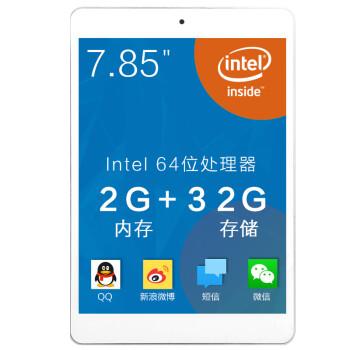 七彩虹(Colorful)i783A 7.85英寸平板电脑(Intel 64位处理器,2G内存+32G存储)银色