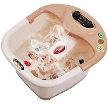 宋金 ZD5L-SJ817 宋金足浴盆洗脚盆自动加热冲浪按摩泡脚盆足浴器足疗桶 半盖式