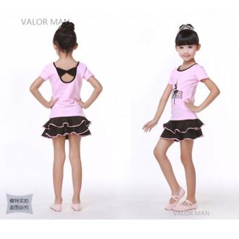 小女孩幼鲍_儿童舞蹈服装夏季小女孩中国舞练功服女童跳舞衣幼少儿拉丁舞裙子