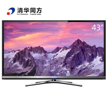 清华同方(THTF)LE-43TX6500 43英寸 智能3D LED平板电视 黑色