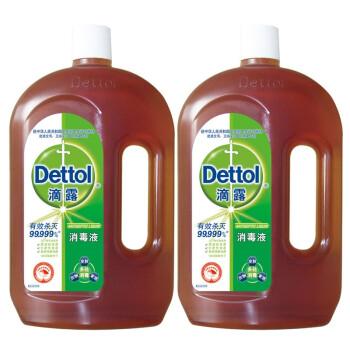 Dettol 滴露 1.5L两瓶特惠装