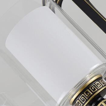 HD 吊灯 客厅卧室复式楼别墅大吊灯 现代新中式复古灯具 风华正茂系列 8头(含LED光源)