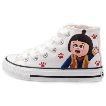 大童卡通单鞋 手绘男女熊